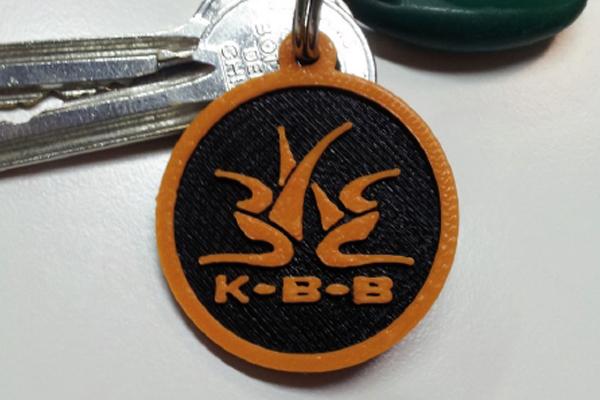 Portachiavi personalizzati in PLA