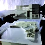 Plastico dell'edificio Habilita di Zingonia