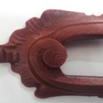 Riproduzione cornice di cassettiera (dettaglio)