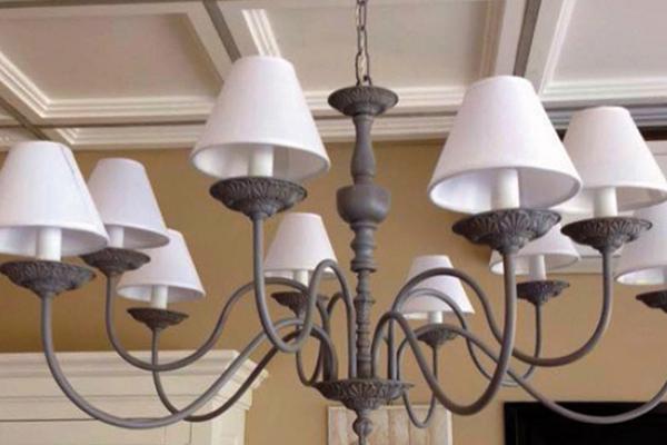 Elementi decorativi per lampadario in PLA