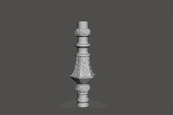 Elemento decorativo per lampadario in PLA (dettaglio)
