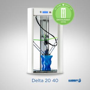Wasp Delta 20 40 stampante 3d